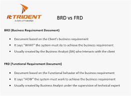 Functional Requirements Document Template Format Software ...