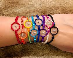 Dream Catcher Braclet Dreamcatcher bracelet Etsy 2