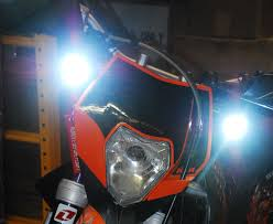 Enduro Lights 20w Trail Lights Cree Spot Led Motorcycle Offroad Dual Sport Enduro Head Fog Ktm