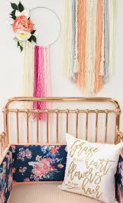 Personalized Spinning Dream Catcher DIY A Modern Spin on the Dreamcatcher Trend Project Nursery 69