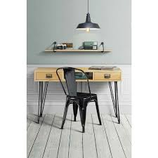 hallway console table. Felix Console Table Solid Oak And Steel Industrial Style Hallway