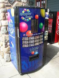 Dippin Dots Vending Machine