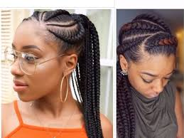 African Braids Hairstyles 56 Stunning Teenagers These Braided Hairstyles Are For You YouTube