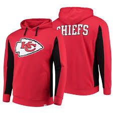 Red Iconic Chiefs Team Men Hoodie