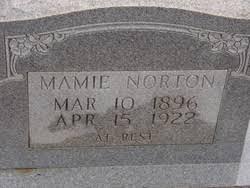 Mamie Holland Norton (1896-1922) - Find A Grave Memorial