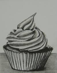 cupcake pencil drawing. Wonderful Cupcake Cupcake Pencil Drawing  Google Search Fruits Drawing Food Cupcake  In Pencil Drawing Pinterest