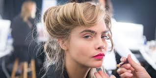 eyebrow microblading blonde hair. microblading for perfect eyebrows - semi permanent eyebrow tattoo technology blonde hair