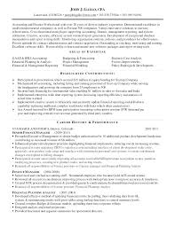 Cpa Sample Resume Resume Examples General Ledger Accountant Resume ...