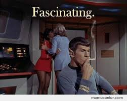 Mr. Spock is fascinated by ben - Meme Center via Relatably.com