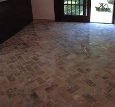 Herringbone Kitchen Floor Custom Bathroom Remodeling Natural Stone Herringbone Tile Floor