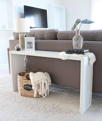 this console table from saffron avenue is super simple to make