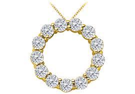 precious stone2 carat diamond circle of