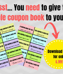 Printable Love Coupons For Him Rule This Roost