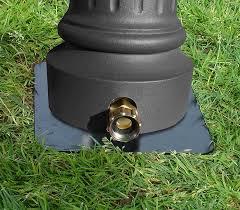 hose adapter ground spike