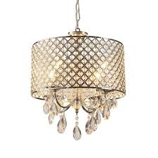 in stock drum chrome round chandelier crystal modern 4 lights with regard to amazing household drum chandelier with crystals plan