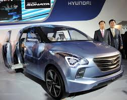 new car launches by hyundaiHyundai unveils concept MPV new Sonata launch in Feb  Business Line