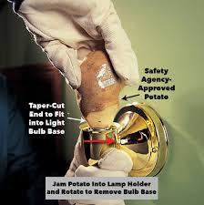 Replace Broken Light Bulb Socket Pin By Carol Heesaker On Fix It Light Bulb Home Safety