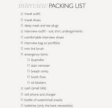 A Little Bit Of Lacquer Interview Packing List