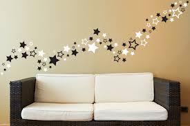star wall art stickers