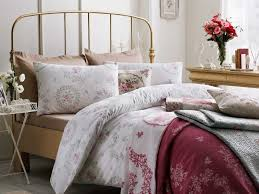 english home rose crush cottony king size duvet cover 24 5x33 0 cm pink