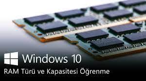 Bilgisayar RAM Türü Öğrenme (DDR1/2/3/4) 2021 - YouTube