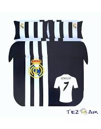 real madrid bedding supreme collection bed sheet set full double size real cf real madrid bedding set