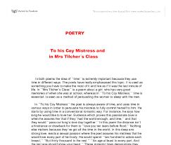 essay writing tips to to his coy mistress essay to his coy mistress essay