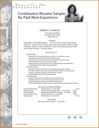 How To Write A Resume Without Work Experience Homemaker For