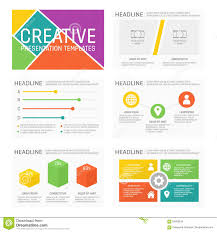 Presentation Charts And Graphs Free Vector Template For Multipurpose Presentation Slides With