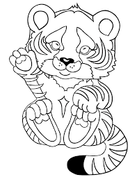 Small Picture tiger printable princess and tiger online coloring page lily