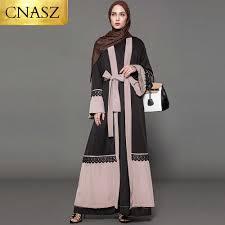 Dubai Jubah Design Islamic Women Wear New Model Abaya In Dubai With Belt Maxi