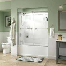 bathtub shower home depot delta bathtub shower doors elegant delta bathtub doors bathtubs the home depot