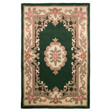 pure wool chinese handcrafted aubusson rugs bottle green round homebase bedroom suites melbourne washable area john lewis childrens curtains blue luxury