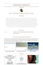 Advertising Internship Resume Delectable Public Relations Intern Resume Samples VisualCV Resume Samples