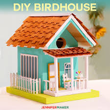 how to make birdhouses with free plans and decoration ideas painted birdhouse diy