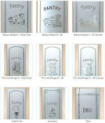 etched glass pantry door doors with sans samples frosted art
