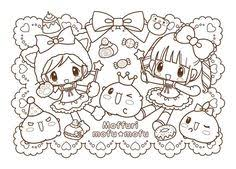Small Picture Best Kawaii Coloring Pages 51 In Line Drawings with Kawaii