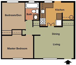 >floor plans georgetown villas apartments 2 bed 1 bath 700 sq ft rent 670 security deposit