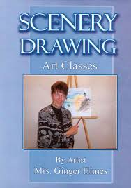 scenery drawing art cles dvd see inside this book