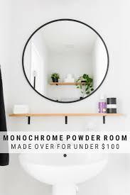 tiny powder room decorating ideas