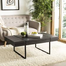 tristan rectangular modern coffee table cof7000a coffee tables