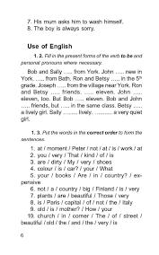 Контрольные работы по английскому языку класс с углубленным  Контрольные работы по английскому языку 4 класс с углубленным изучением