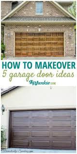 garage door ideas5 How to Make Over Your Garage Door Ideas  Tip Junkie