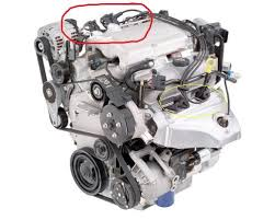 v spark plug replacement chevy bu forum chevrolet that plugs are the circled the yellow that s half of them anyways