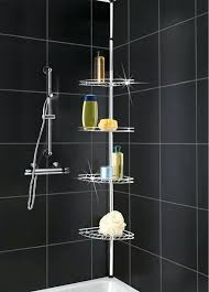 Telescopic Shower Corner Shelves Stunning Amusing Shower Caddy For Bathroom Plastic Corner Shower Online Shop