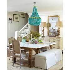 currey and company hedy chandelier turquoise