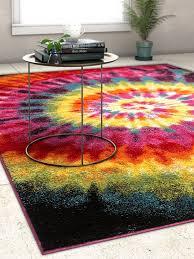 rugs area rugs carpet area rug floor large modern colorful tie dye rugs new