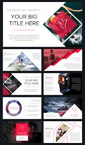 Modern Powerpoint Template Free Optimize Modern Powerpoint Template By Thrivisualy On