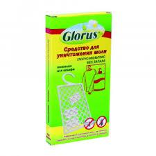 <b>Пластины Глорус</b> Мольтокс <b>от моли</b> (в упаковке). Купить в ...