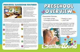 Sample Preschool Brochure Preschool Brochure Besikeighty24co 2